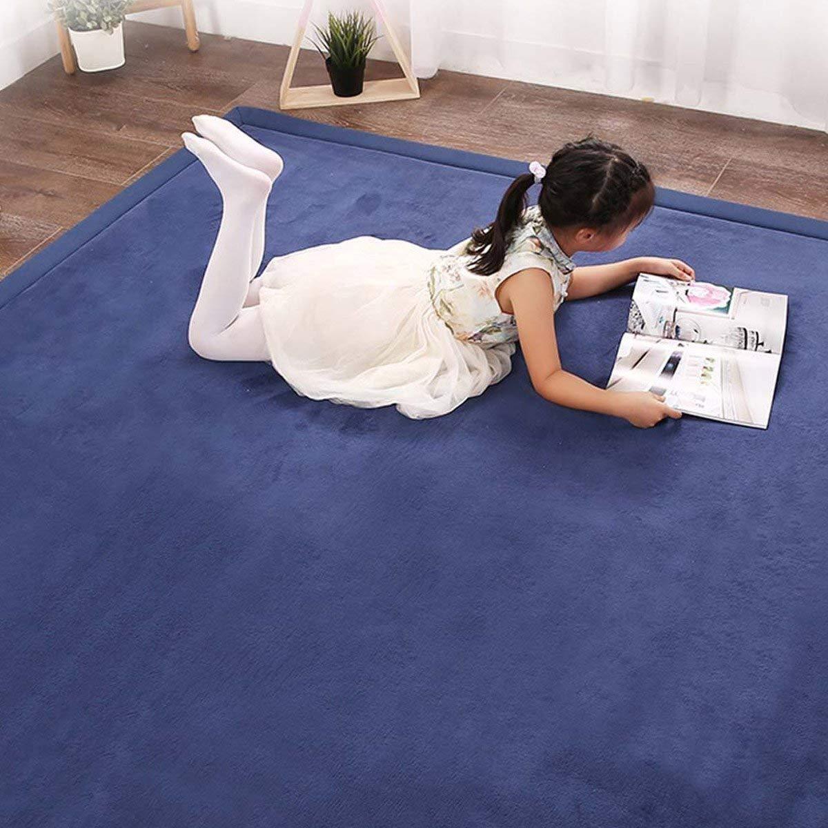 Coral Velvet Carpet Mat Area Rugs Play Crawling Mat for Baby Toddler Children Play Mat Yoga Mat Exercise Pads