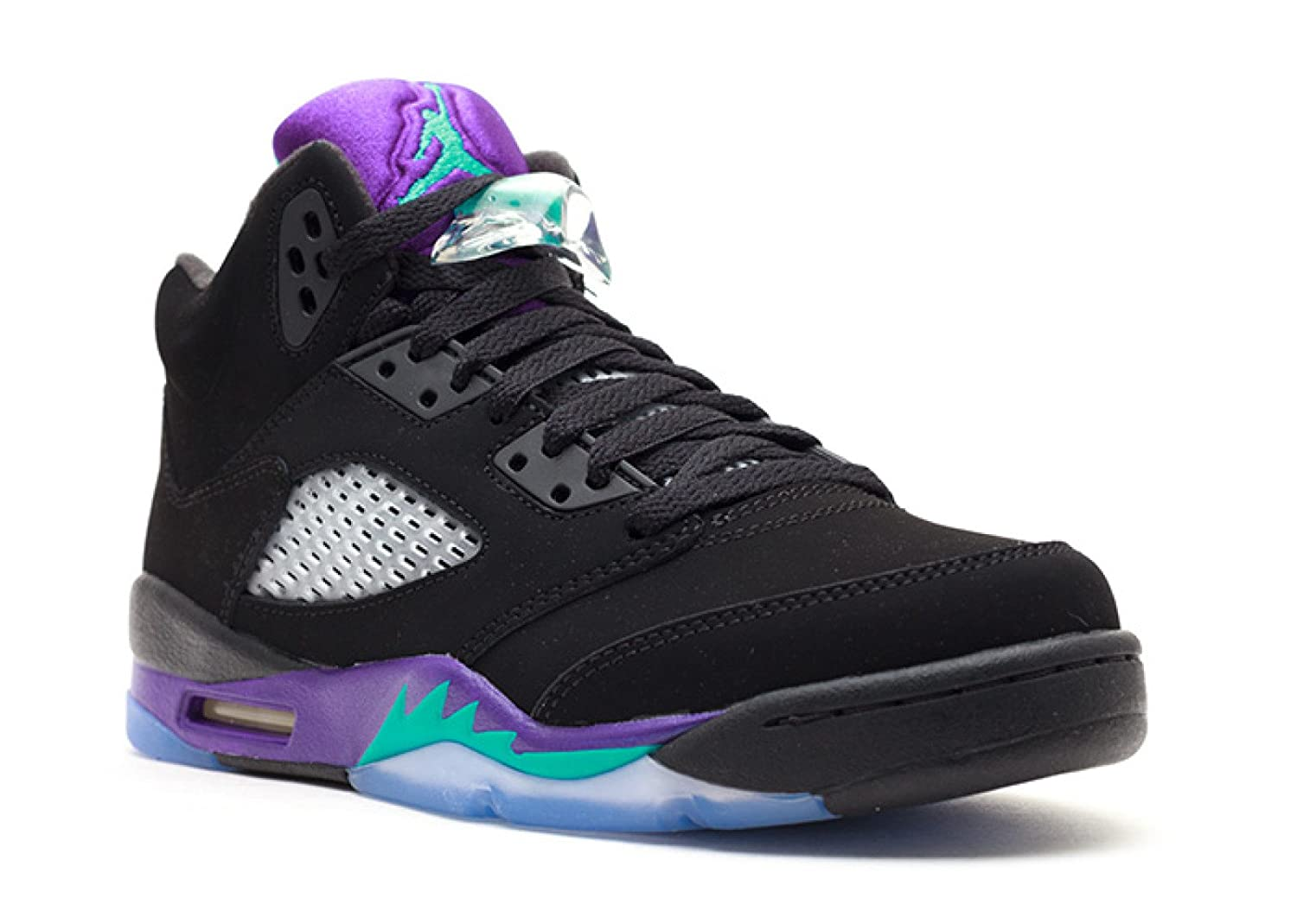 release date: 89538 12cdb Amazon.com  AIR Jordan 5 Retro (GS)  Black Grape  - 440888-007 - Size 6   Shoes
