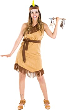 TecTake dressforfun Disfraz da India Hope para Mujer | Vestido con ...