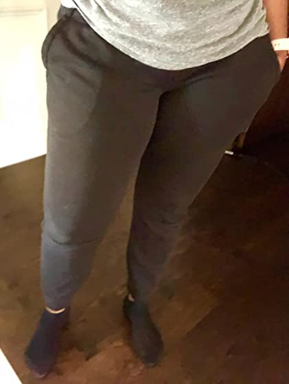 adidas Women's Essentials Linear Pants Revised Review... Fits Great! Finally, not baggy.
