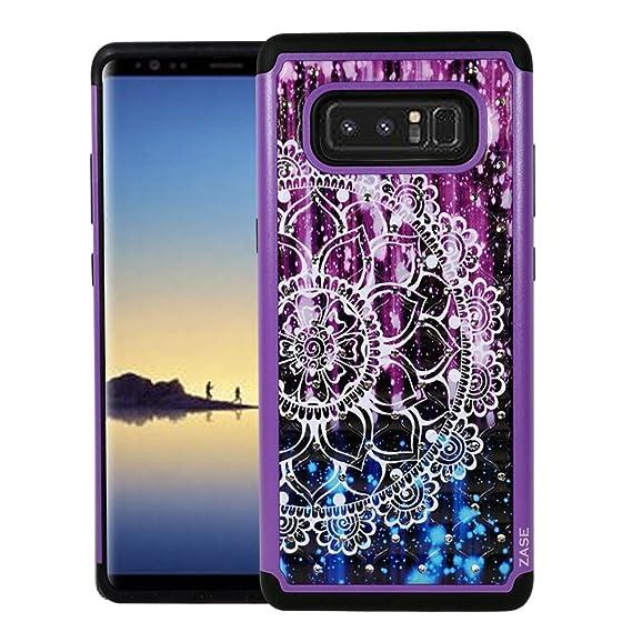 newest 80064 afb08 Amazon.com: Galaxy Note 8 Case, Samsung Galaxy Note8 Hybrid Dual ...