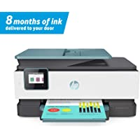 HP OfficeJet Pro 8035 All-in-One Wireless Printer - Includes 8 Months of Ink Delivered to Your Door, Smart Home Office Productivity - Oasis (3UC66A)