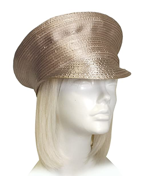 Satin-CRIN Captain Bib-Hat Body - Assorted Colors (UNTRIMMED HAT ONLY) 200  at Amazon Women s Clothing store  51bbd9dd2b12