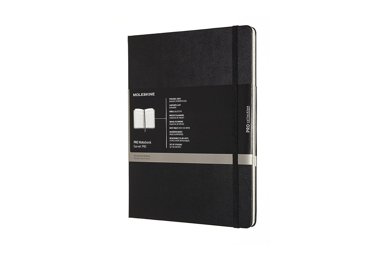Moleskine Professional Notebook, Large, Black, Hard Cover (5 x 8.25) PROPFNTB3HBK NON-CLASSIFIABLE