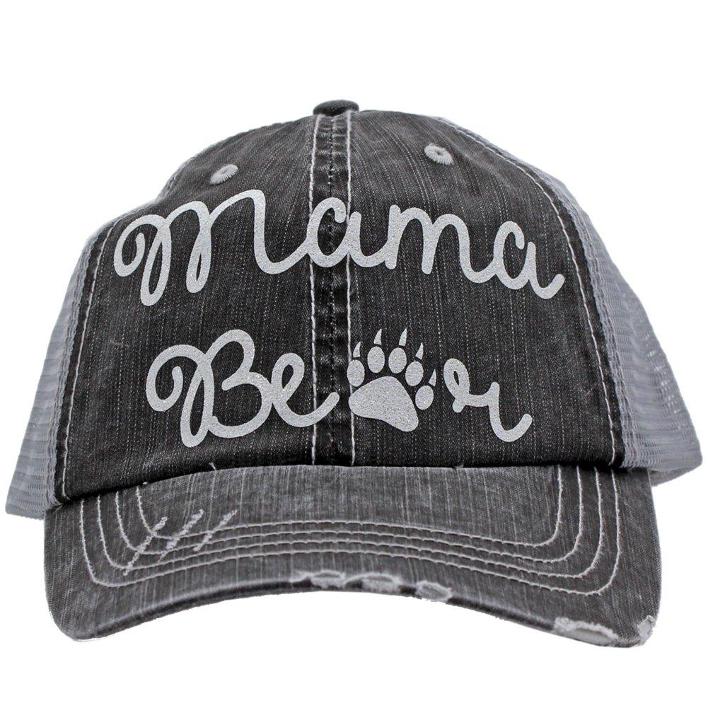 Mama Bear Paw Print Trucker Style baseball Cap Hat Rocks any Outfit at  Amazon Women s Clothing store  6eb6d926d9b1