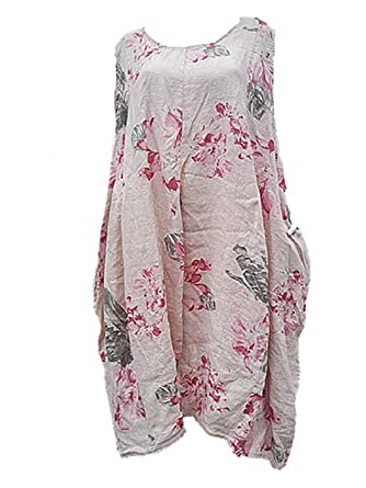 Robe rose taille 50