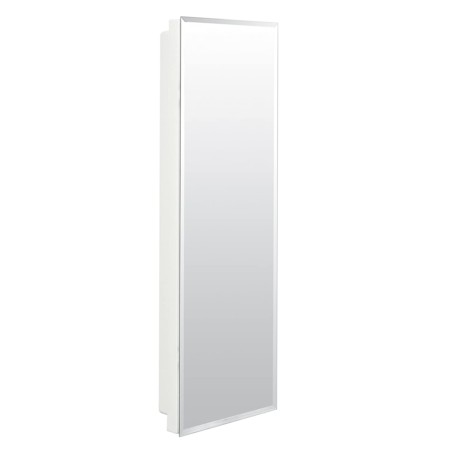 x surface white storage cabinet rectangle bathroom com verdera in pl kohler aluminum recessed medicine cabinets at lowes shop mirrored