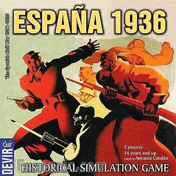 Devir – Juego de mesa España 1936, simulación histórica (Devir ...