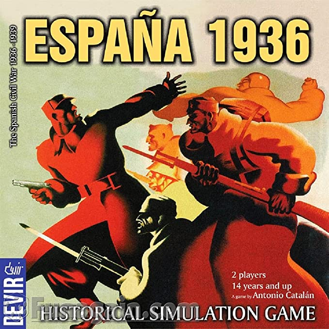 Devir – Juego de mesa España 1936, simulación histórica (Devir 15463): Amazon.es: Juguetes y juegos