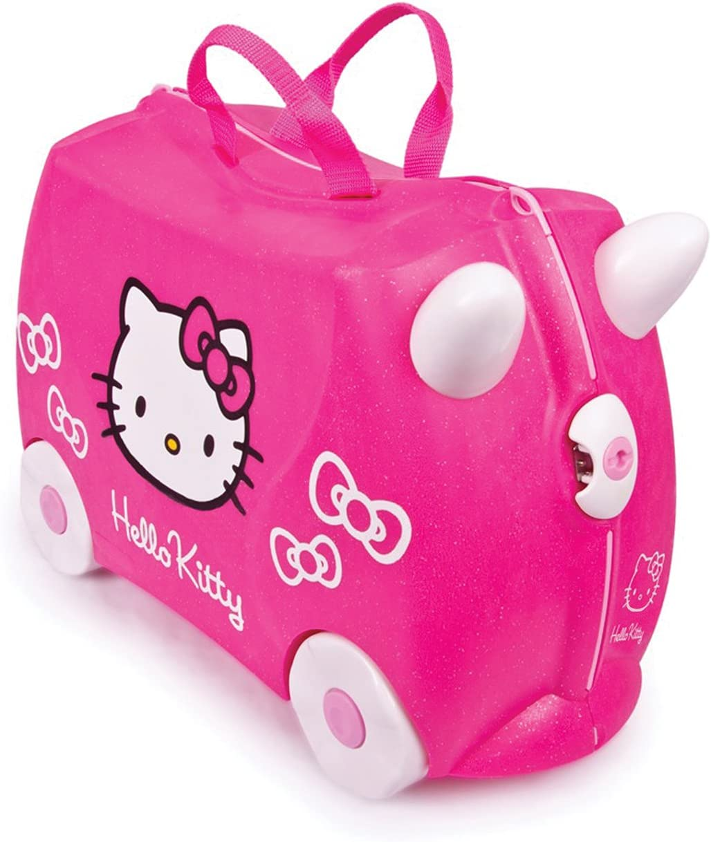 Trunki 0131-GB01 - Equipaje infantil Hello Kitty, 18 L, color rosa