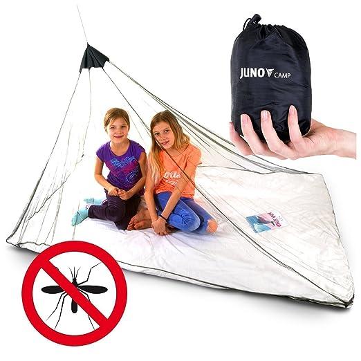 553 opinioni per Junocamp personali zanzariera per campeggio e viaggio, verde militare, Green,