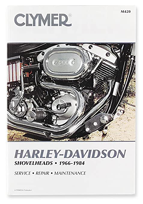 amazon com clymer repair manual m420 automotive rh amazon com Harley Panhead harley davidson shovelhead repair manual free download