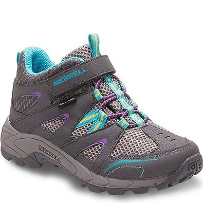 2fe948966e7 Merrell Hilltop Quick Close Waterproof Hiking Boot (Little Kid)