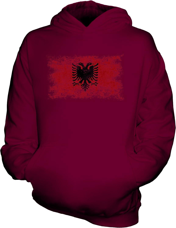 Candymix Albanie Drapeau D/élav/é Unisexe Sweat-Shirt /à Capuche Enfant Gar/çon Fille