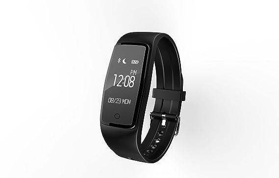 Fitness Tracker, TKSTAR S1 inteligente Bluetooth pulsera podómetro pulsera inteligente seguimiento de actividad Monitor de