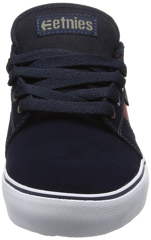 Mens Barge Ls Skateboarding Shoes, Black/Dark Grey/Gum, D(M) US Etnies