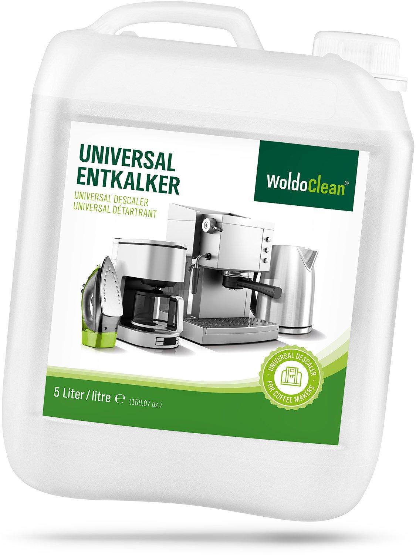 Descaler & Cleaner for Coffee and Espresso-Machine All-Purpose - 5 Liter Limescale Remover Descaling Kettle Iron Descale Liquid Decalcifier