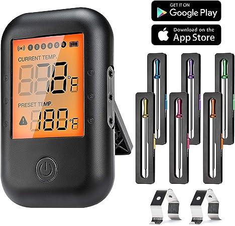 Grill Ofen Fleisch Thermometer Fleischthermometer neu Bratenthermometer