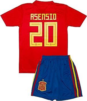 SVB España wm18 # 20 Asensio & # 7 Morata – Niños Camiseta y ...