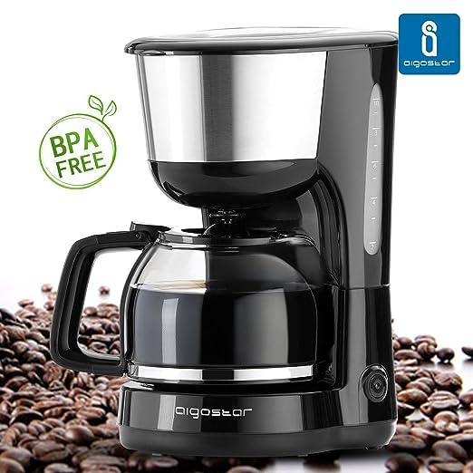 29 opinioni per Aigostar Chocolate 30HIK- Macchina per caffe' 1000 Watts, Caffettiera, Firltro