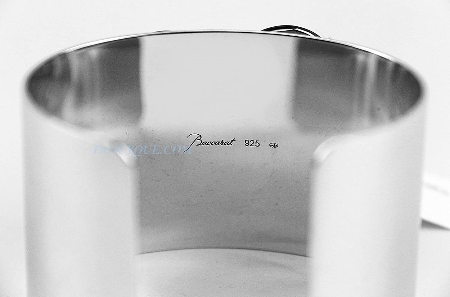 Baccarat Jewelry Papillon Butterfly Riviera Clear Large Bracelet Sterling Silver NO Box