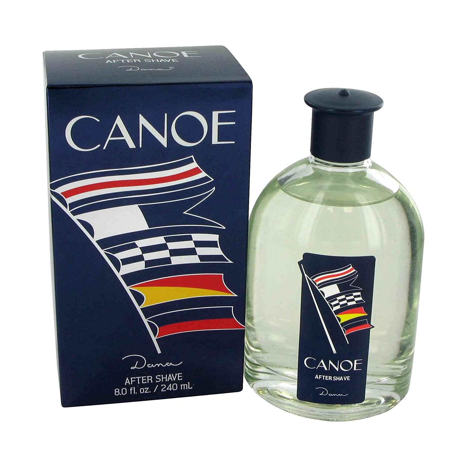 Canoe Men After Shave Splash by Dana, 8 Ounce M-BB-1141