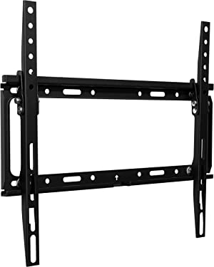 Philips Tilting Wall Mount Bracket for 30-80 Inch LCD LED HDTV Flat Screen with VESA 400x400, Holds up to 100 Lbs, Lockable Safety Bar, Easy Installation, Hardware Included, SQM7442/27