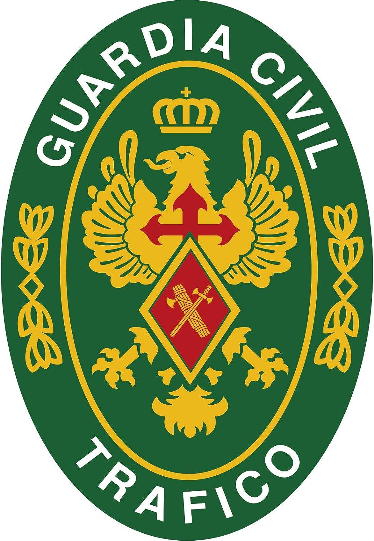 Artimagen Pegatina Oval Logotipo Guardia Civil Tráfico 45x65 mm ...