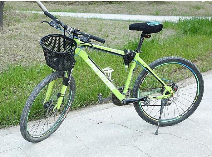 REYG Bicicleta Bicicleta Cesta Desmontable Plegable Delantero Ciclo De Plástico Bolsa De Compras Porta Mascotas Organizador Colgar Cestas De Manillar,Black: Amazon.es: Hogar
