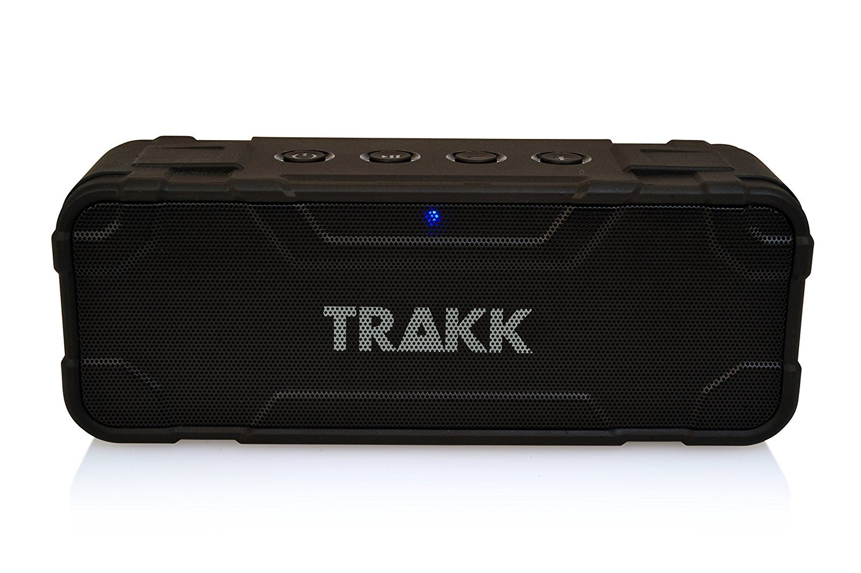 TRAKK MAMBA 30W Wireless Waterproof Rugged Shockproof Bluetooth Speaker with Built in Subwoofer and Mic by TRAKK