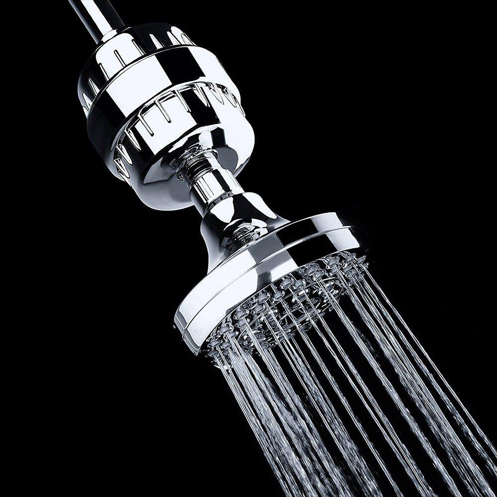 10Stage In-Linie Badezimmer-Duschfilter-Wasser-Reinigungsapparat entfernt Chlor EBILUN Badezimmer-Wasser-Reinigungsapparat schwere Metalle