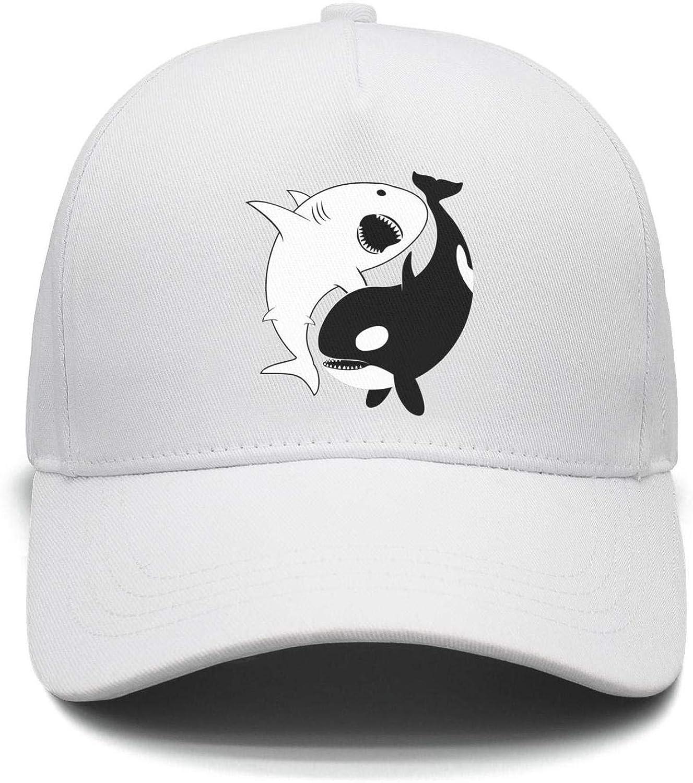 Unisex Bear Shark Strapback Hat Adjustable Sports caps