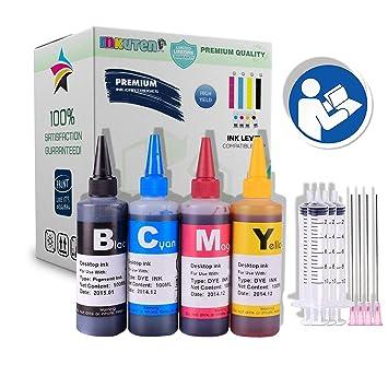 Amazon.com: 13.5 fl oz de INKUTEN resistente a UV recambios ...