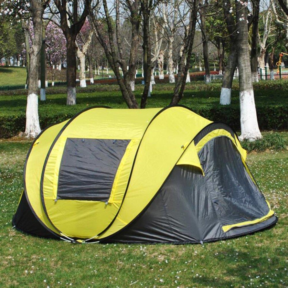 2018 Super automatische Zelt Multi-Person Camping Zelt Outdoor Schnellöffnung Strand Zelt Camping Sun Shelter Outdoor Instant automatische tragbare Cabana