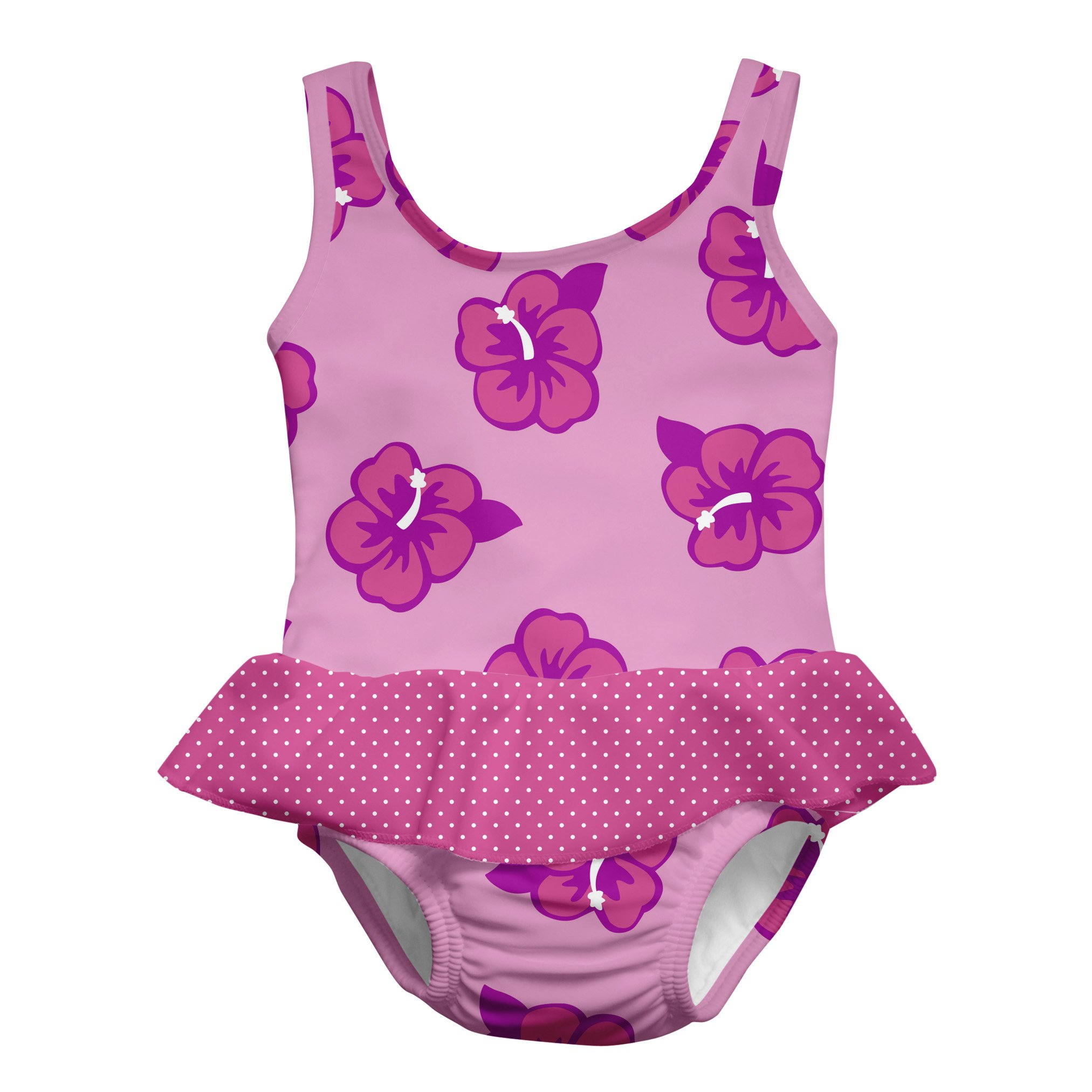 i play. Girls Skirty Swimsuit with Built-in