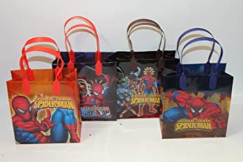 Amazon.com: 48 piezas Spiderman Goodie bolsas Party Favor ...