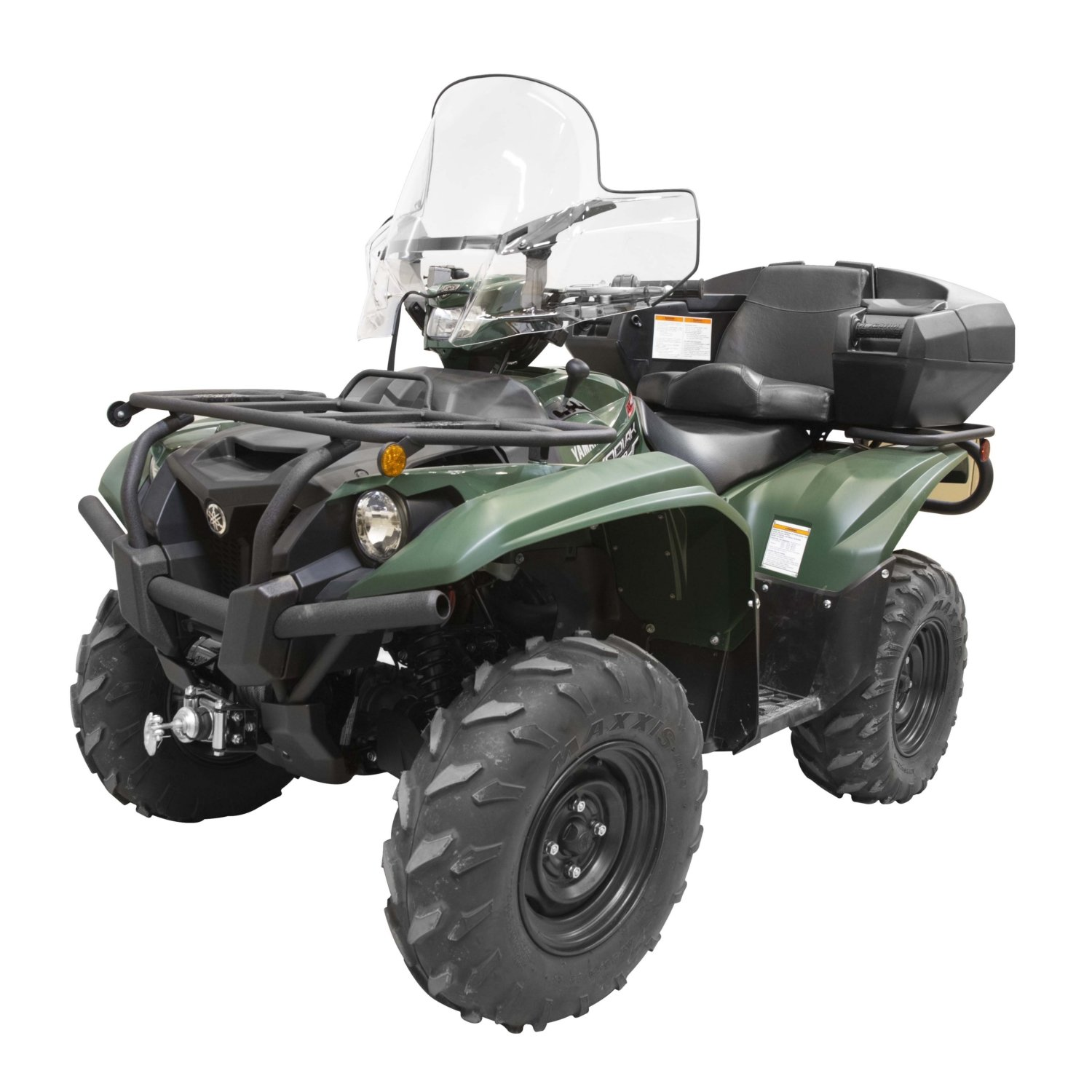 Kimpex ATV Front Windshield Gen 2 Clear Yamaha Kodiak Grizzly 2016-2018