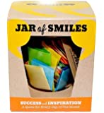 """Success & Inspiration in a Jar. A Month of Thoughtful & Motivational Quotations in a NEW STYLE 314ml Premium Italian Orcio Glass Jar. The Perfect Gift. 31 Multi-Coloured Quotes to Show Your Friends & Family How Much You Value & Believe in Them. """"Be The Reason Someone Succeeds Today""""- Complete with own gift box."""