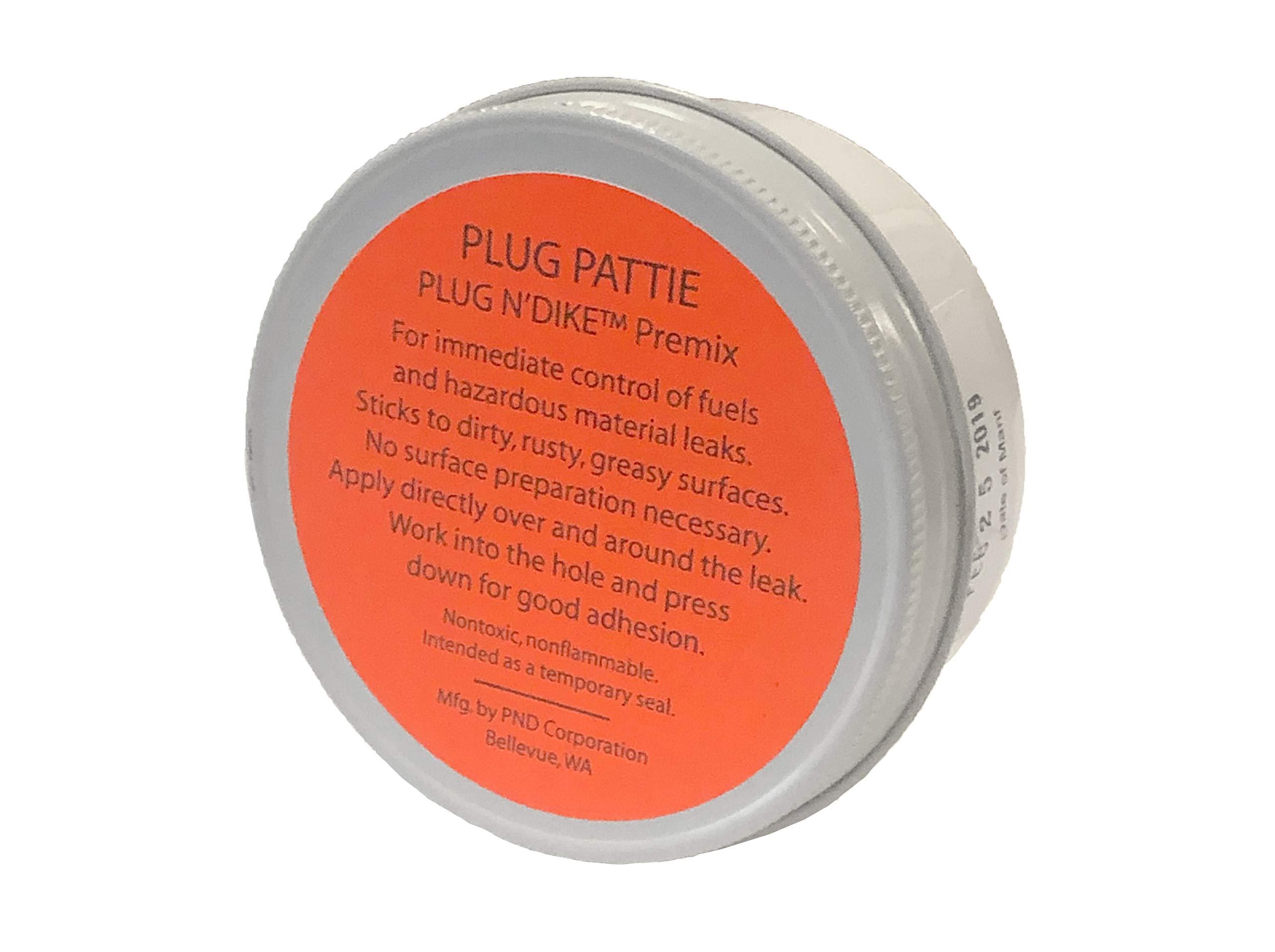 Plug 'n Dike Premix Pattie (Case of 4)