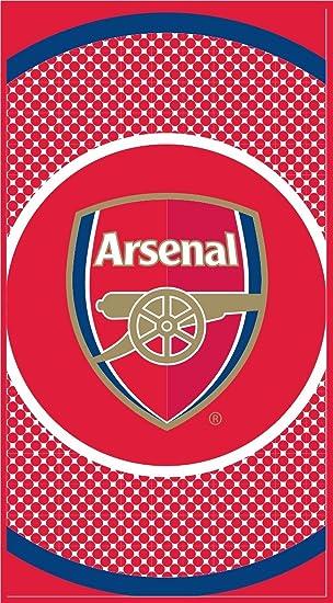 Serviette De Plage Arsenal.Arsenal F C Serviette De Gym De Bain Plage 100 Coton