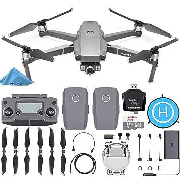 DJI Mavic 2 Zoom Drone Quadcopter 2 baterías + SanDisk 32GB ...