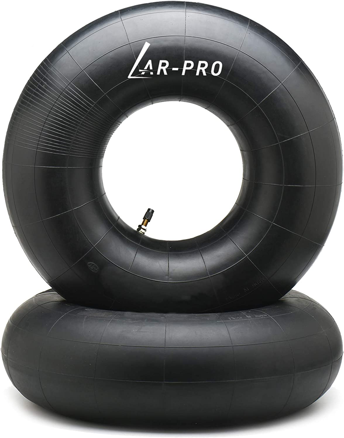 AR-PRO 20x10.00-8, 20x10-8, 20x8.00-8, 20x8-8 Inner Tube Replacement (2-Pack) with TR-13 Straight Valve Stem for Mower/Tractor/Golf Cart/Garden Trailer and More