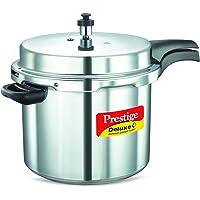 Prestige Deluxe Plus Aluminum Pressure Cooker