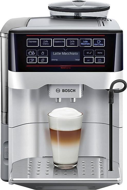 Bosch TES60321RW - Cafetera súper automática (15 bares de presión ...