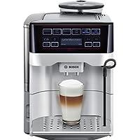 Bosch TES60321RW - Cafetera súper automática (15 bares de presión, depósito de 1.7 L, 5 tipos de café)