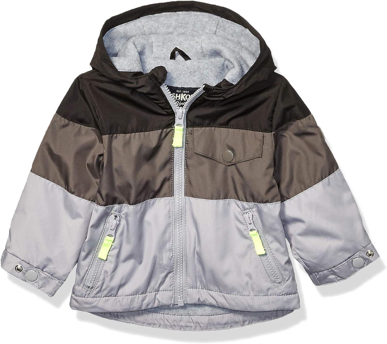 OshKosh BGosh Baby Boys Midweight Jersey Lined Jacket