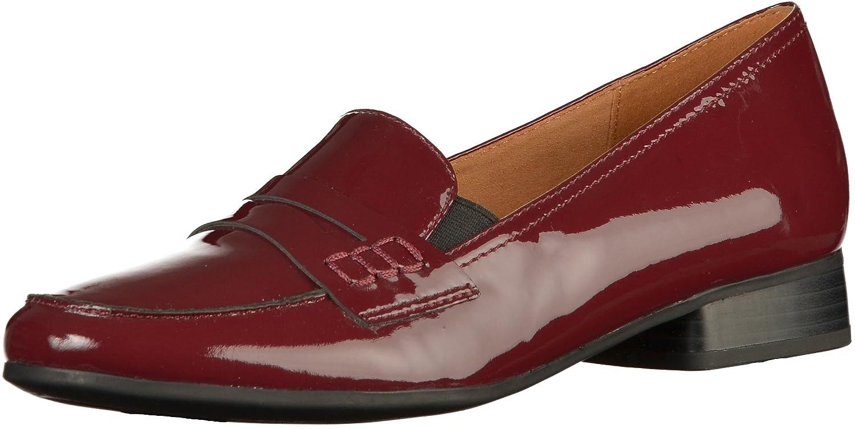 24250, Mocassins (Loafers) Femme, Noir (22) 38.5 EUCaprice