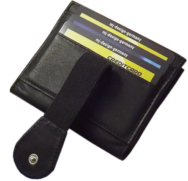 Leder Kredit Und Visitenkartenetui Mit Geldscheinfach