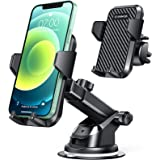 VANMASS Universal Car Phone Mount,【Patent & Safety Certs】Upgraded Handsfree Stand, Dash Windshield Air Vent Phone Holder for