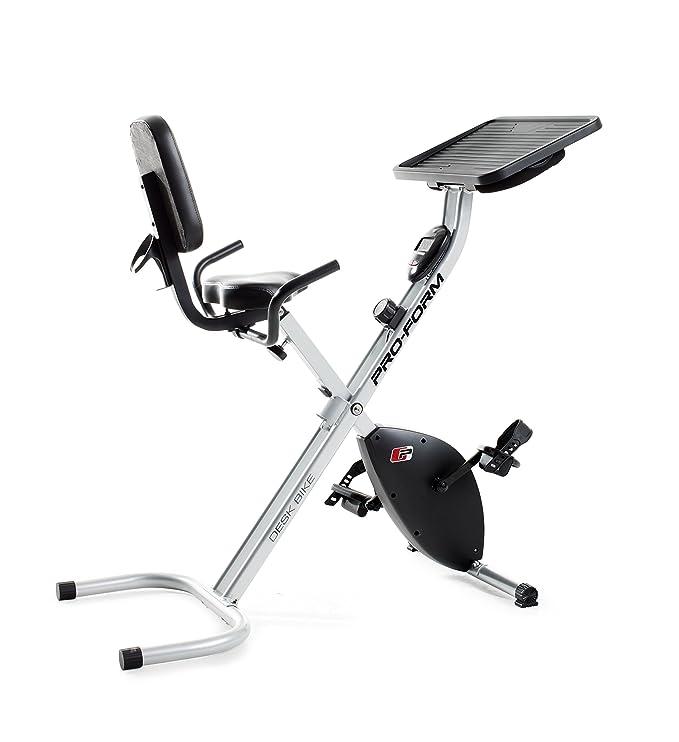 Proform bicicleta estática escritorio - PFEX78916, Plateado ...